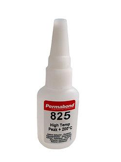 Permabond 825 high temperature 1 x 20g bottle