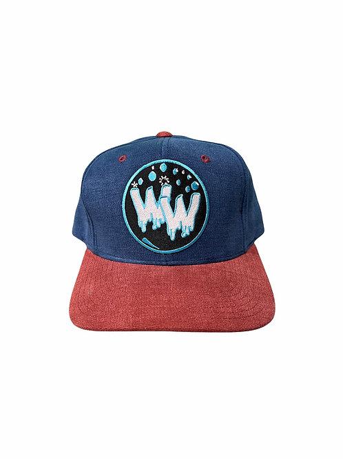 Water Wave Bubble Vintage Hat (B&R)
