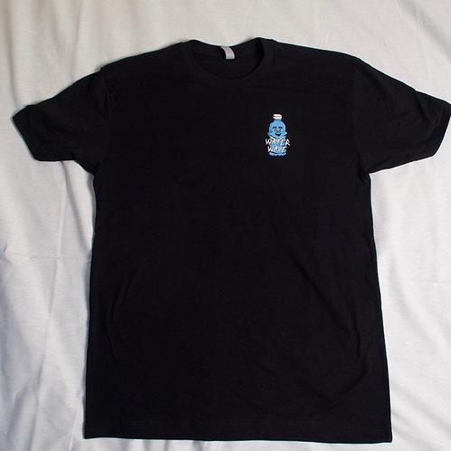 Water Bottle Logo Tee (Black)