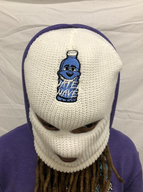White Water Wave Ski Mask