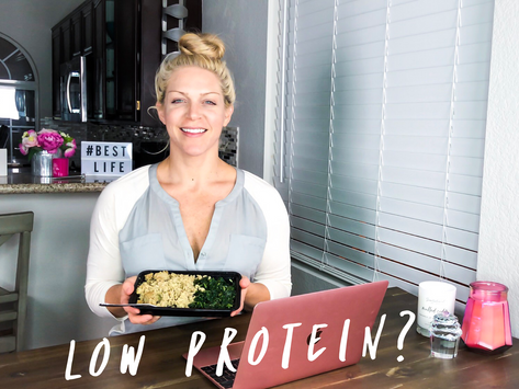 Is Low Protein Sabotaging Your Health & Fitness Goals?