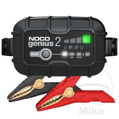 NOCO BATTERY CHARGER GENIUS2UK 6/ 12V 2A