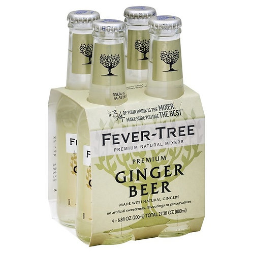 Fever-Tree Ginger Beer 4pack