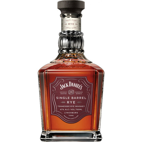 JACK DANIEL'S NEW SINGLE BARREL RYE WHISKEY 750ml