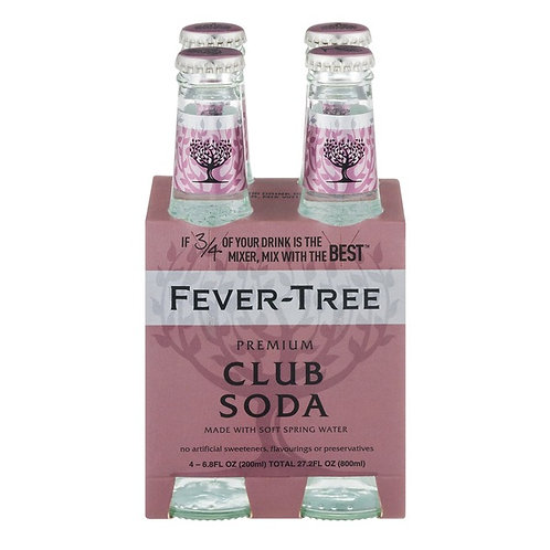 Free-Tree Club Soda 4pack