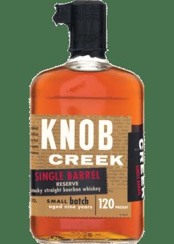 Knob Creek Single Barrel Reserve 9 Year 120 Proof 750ml