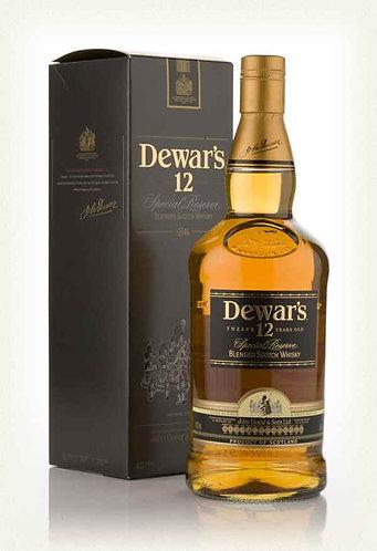 Dewar's 12 Year Old Blended Scotch 750ml
