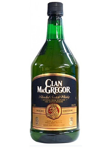 Clan MacGregor Scotch Whisky 1.75L