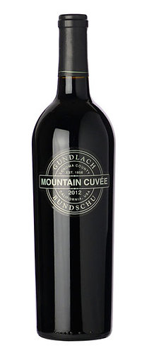 "Gundlach Bundschu ""Mountain Cuvée"" Sonoma County Red Blend"