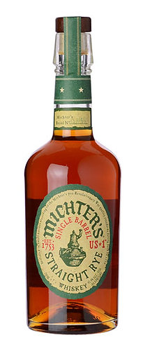 Michters US*1 Single Barrel Straight Rye Whiskey 750ml