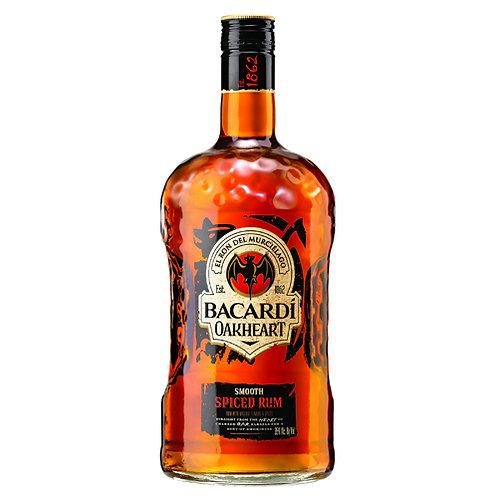 Bacardi Oakheart Smooth Spiced Rum 1.75L