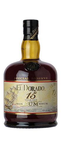 El Dorado 15 Year Rum 750ml
