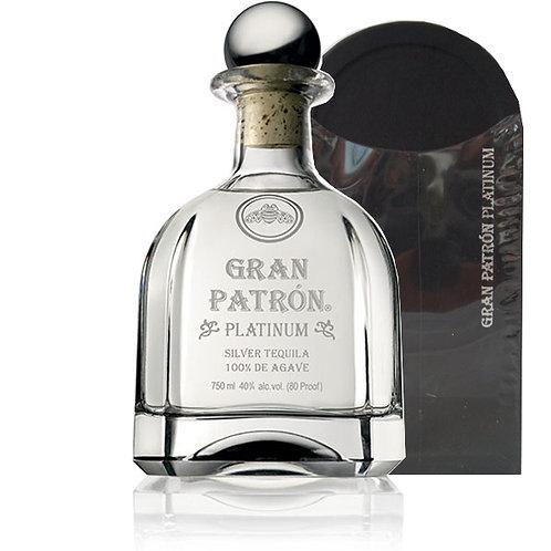 Patron Tequila Gran Patron Platinum 750ml