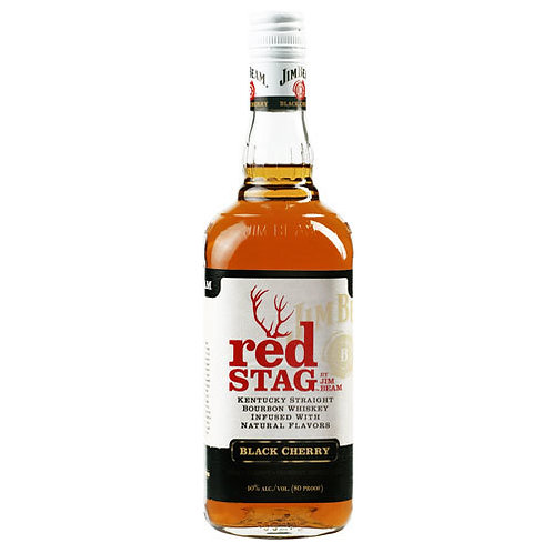 Jim Beam Red Stag Bourbon Whiskey 750ml