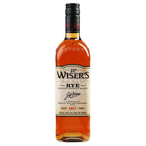 JP Wiser's Rye Whiskey 750ml