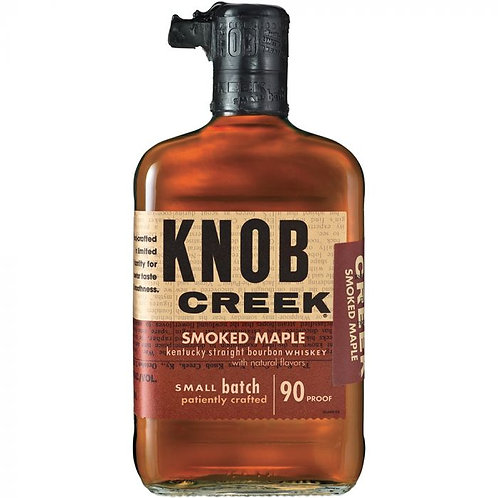 Knob Creek Smoked Maple Kentucky Straight Bourbon Whiskey Small Batch 750ml