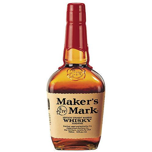 Makers Mark Kentucky Straight Bourbon Whisky 750ml