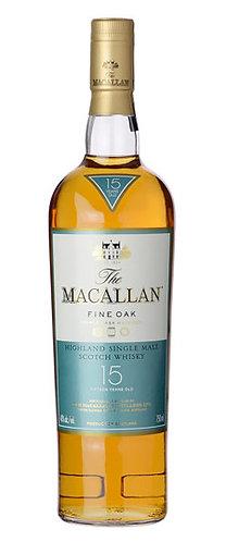 Macallan Fine Oak 15yr 750ml
