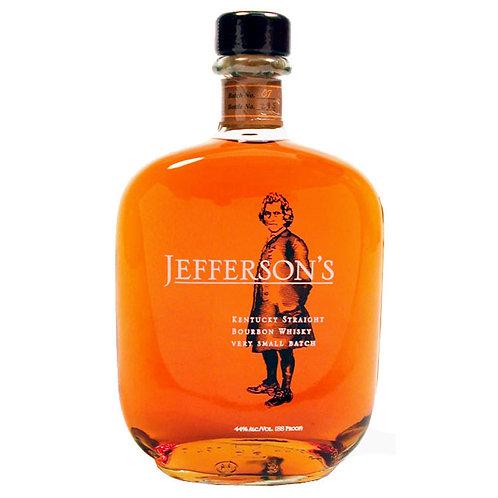 Jefferson's Very Small Batch Straight Bourbon Whiskey 750ml