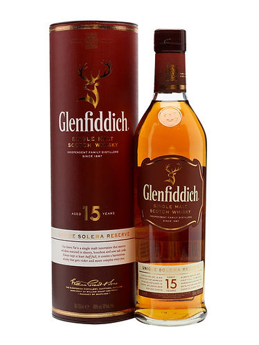 Glenfiddich 15yr 750ml