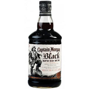 Captain Morgan Black Spiced Rum 1.75L