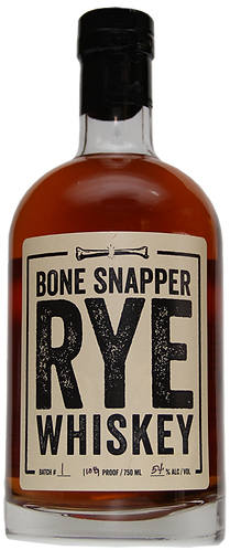Bone Snapper Rye Whiskey 750ml