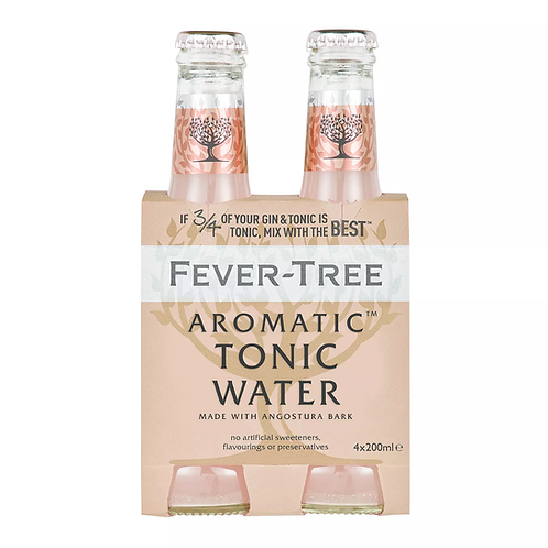 Fever-Tree Aromatic Tonic 4pack