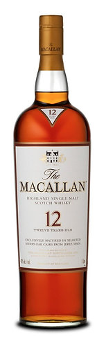 Macallan Sherry Oak 12yr 750ml
