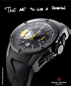 Ange Barde EVO 1 Black & Yellow