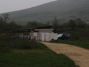 Bargaining for Altar Cloths in Bosnia