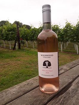 Wildwood Vineyard Pinot Noir Rose 2018