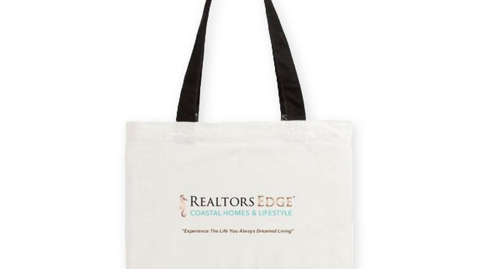 Cotton Two-Tone Tote Bag