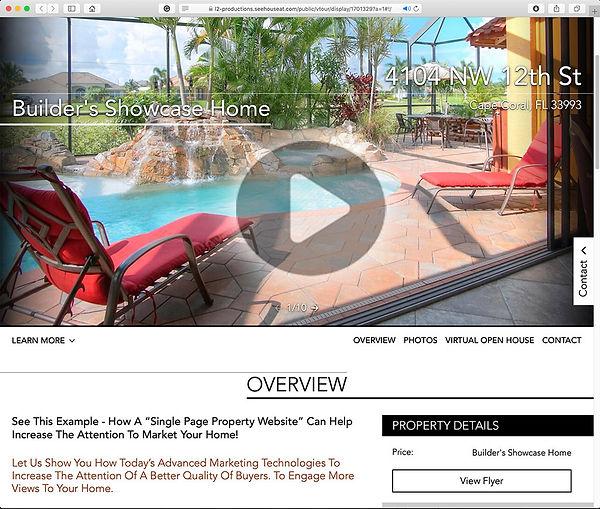 play sm Brian's SIngle Page Property Web