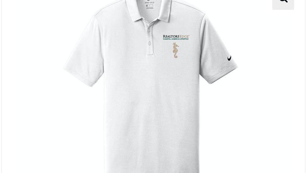 Nike RealtorsEdge® Dri-FIT Hex Textured Sports Polo