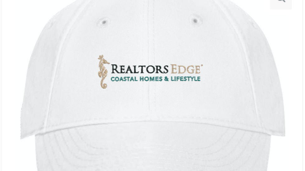 RealtorsEdge® Fine Tweed Embroidered Baseball Cap