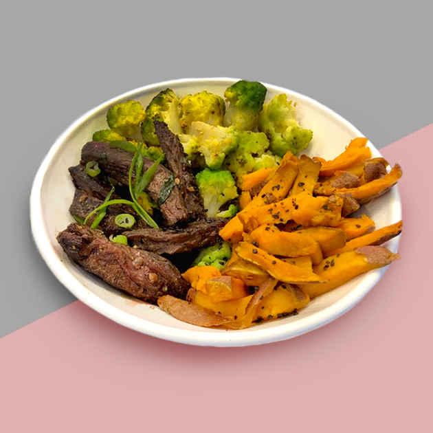 Steak and Sweet Potatoes