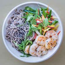 Shrimp Sesame Soba Noodle