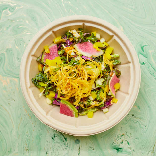 Vegan Rainbow Salad