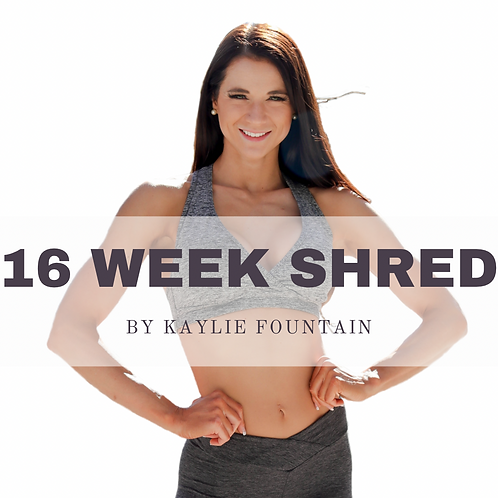 16 Week Shred
