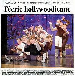 JDJ Jazz Dance Corgémont The Musical Show 2001