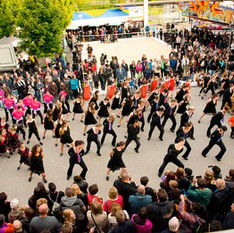25 ans Flash Mob
