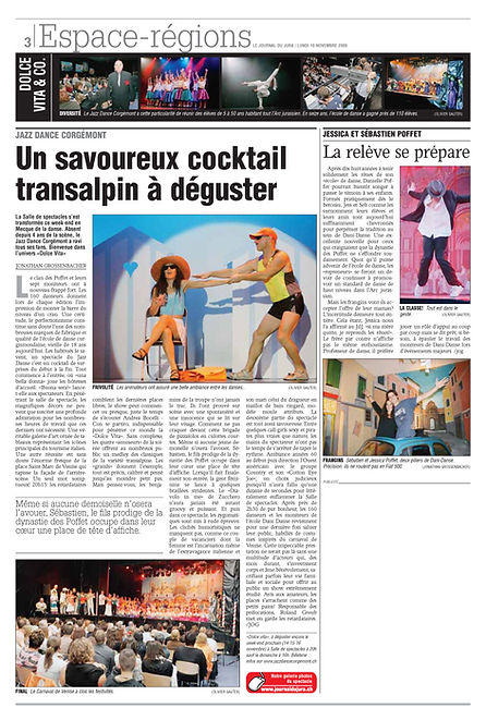 JDJ Jazz Dance Corgémont Dolce Vita 2008