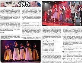 Jazz Dance Corgémont Route 66 2012