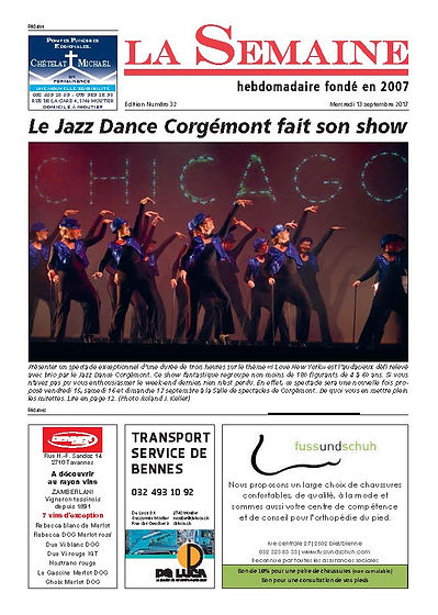JDJ Jazz Dance Corgémont Route 66 2012