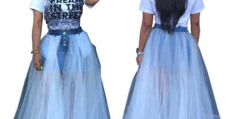 wrong for you  jeans skirt