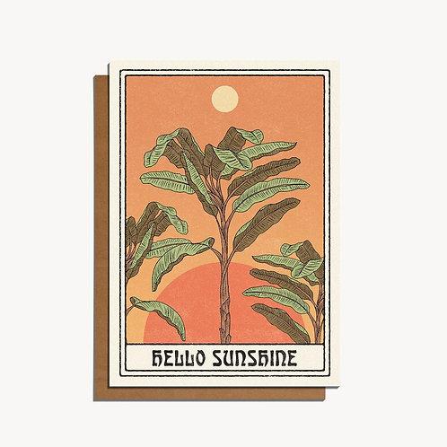 hello sunshine card.