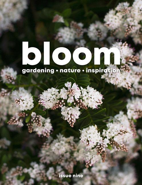 bloom magazine issue 9.