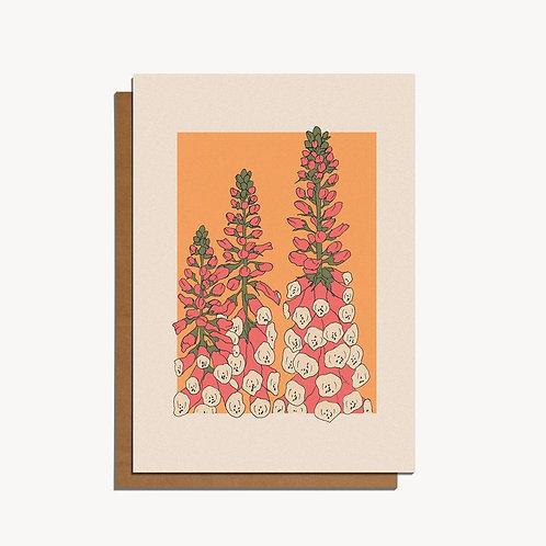 foxgloves card.