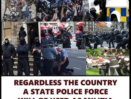 Belfast 32CSM On Political Policing