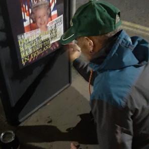 Posters Erected Ahead Of Queen Visit